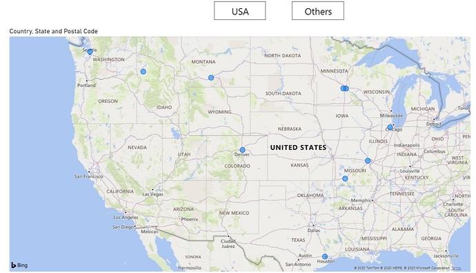 3. USA Zip Codes Visual