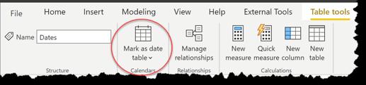 eDNA Forum - Mark as Date table - 1