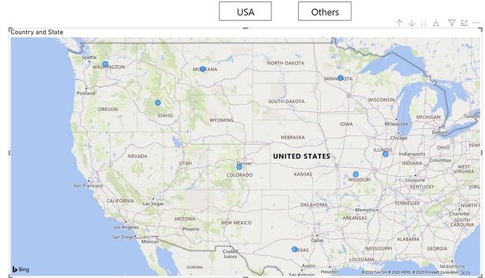 2. USA States Visual