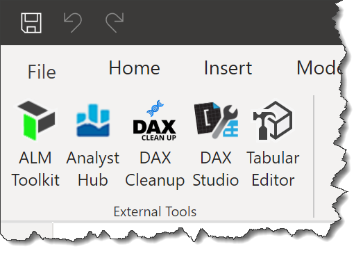 External Tool DAX Cleanup
