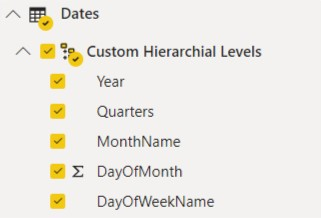 Date Hierarchy - 3